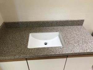 Bath Remodeling Counter
